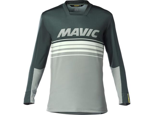 Mavic Deemax Pro Koszulka rowerowa z długim rękawem Mężczyźni, darkest spruce